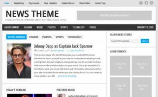 Pagina web para periodicos y sitios de noticias